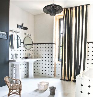 rideaux de fenetre de salle de bain