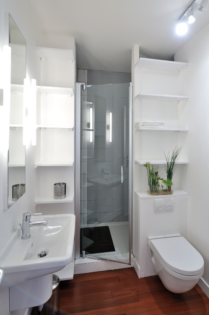salle d eau avec toilettes modern