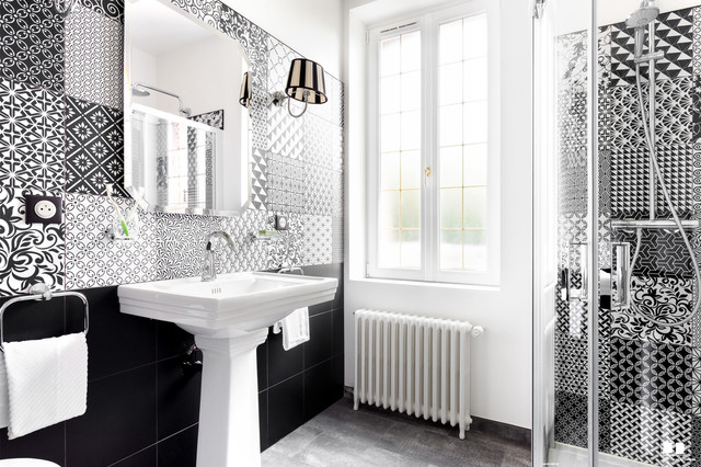 salle de bain style art deco chic et