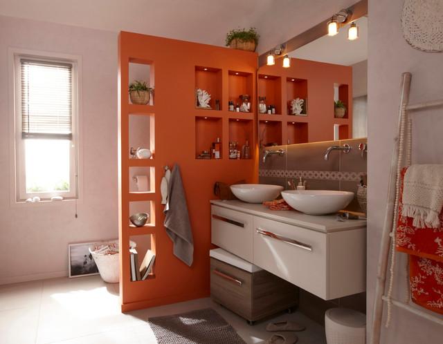 Salle De Bains Contemporary Bathroom Lille By Leroy Merlin Officiel