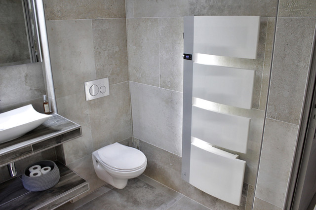 salle de bains principale carrelage