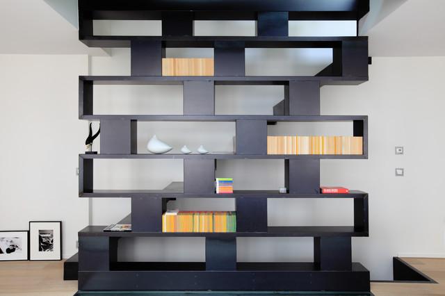 installer des meubles de rangement ouverts