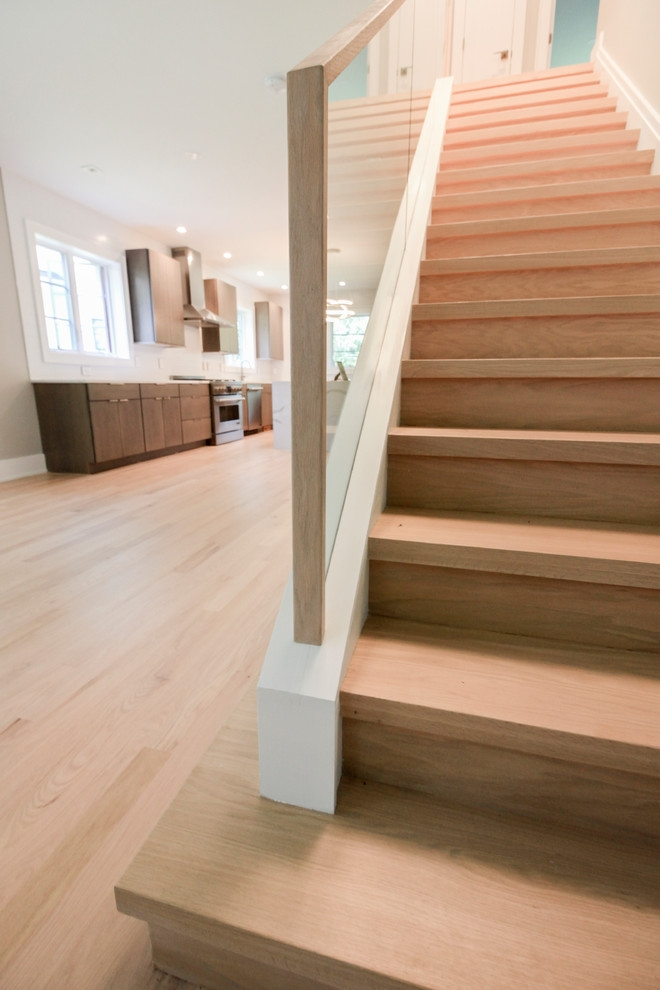 60 Contemporary Oak Staircase With Frame Less Glass Balustrade | Glass And Oak Banister | Minecraft | Traditional | Stair Case | House | Designer