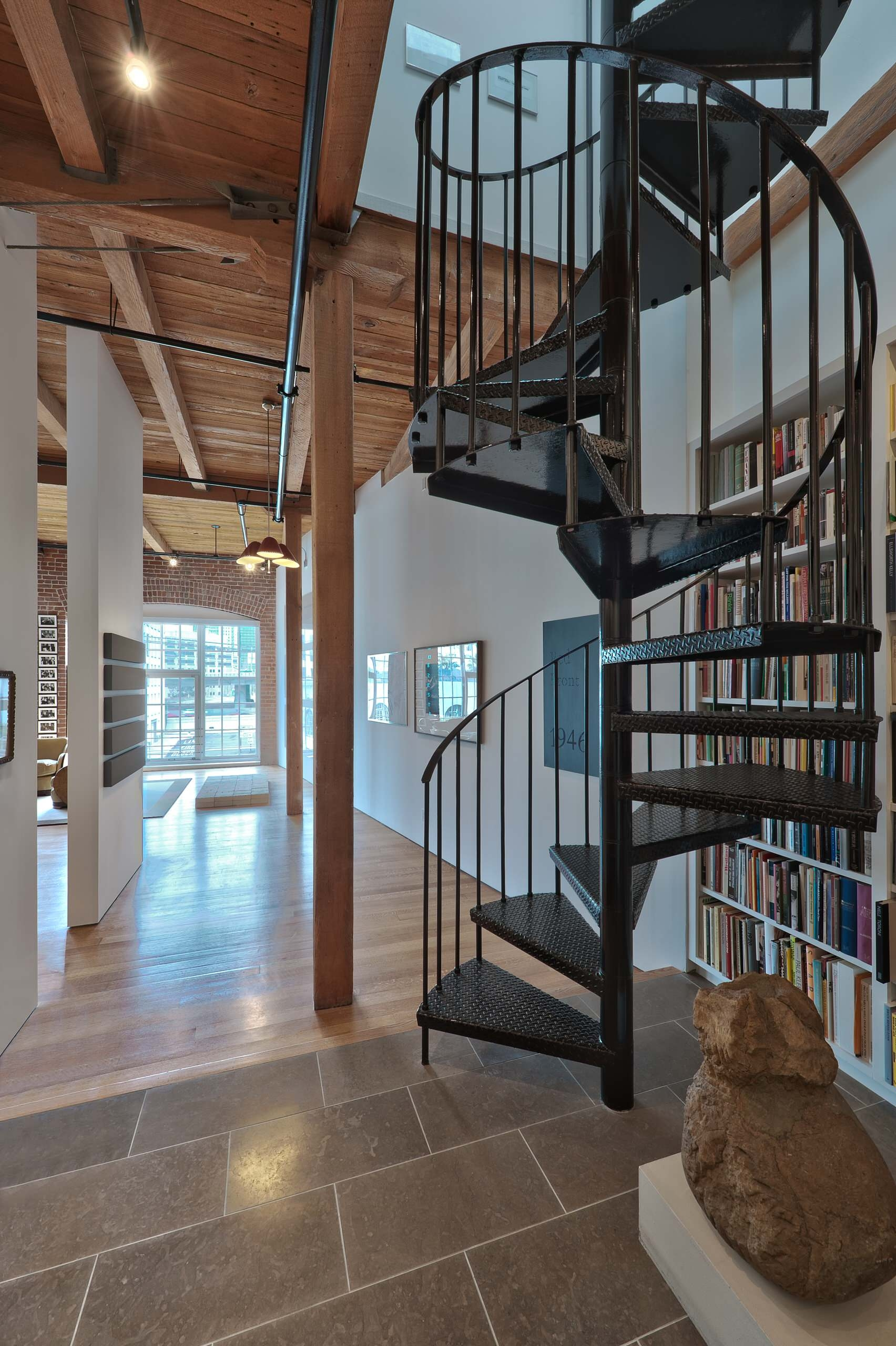 Wide Spiral Staircase Houzz | Used Spiral Staircase For Sale | Vertical | Exterior | Contemporary | Wrought Iron | Curved