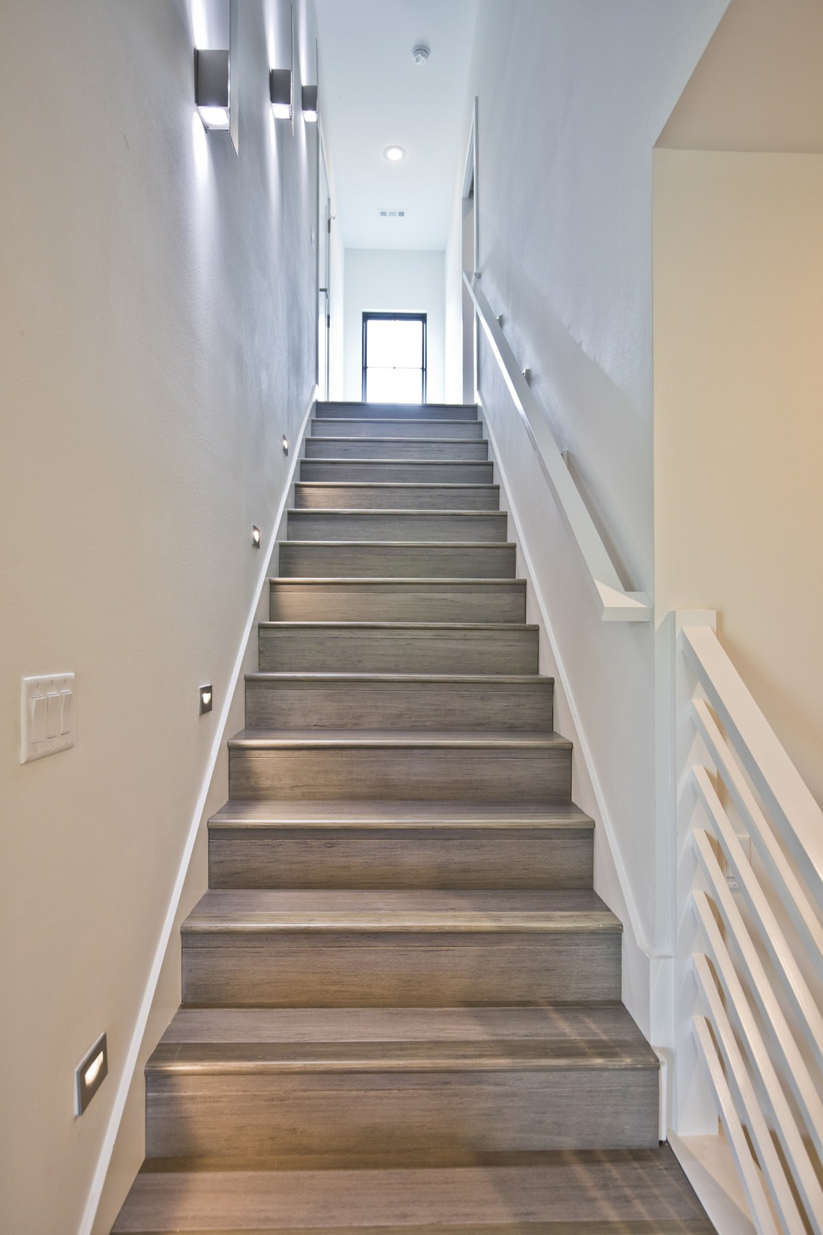75 Beautiful Staircase Pictures Ideas September 2020 Houzz   Latest Staircase Railing Designs   Diy Modern   Handrail   Indian Style   Wrought Iron   Simple 2Nd Floor Railing Wood Stairs Iron Railing Design
