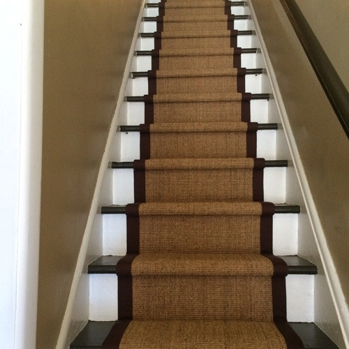 Natural Carpet For Stairs And Hallway Runners And Area Rugs | Stair And Hallway Runners | Landing | Stair Treads | Wool | Non Slip | Images Tagged