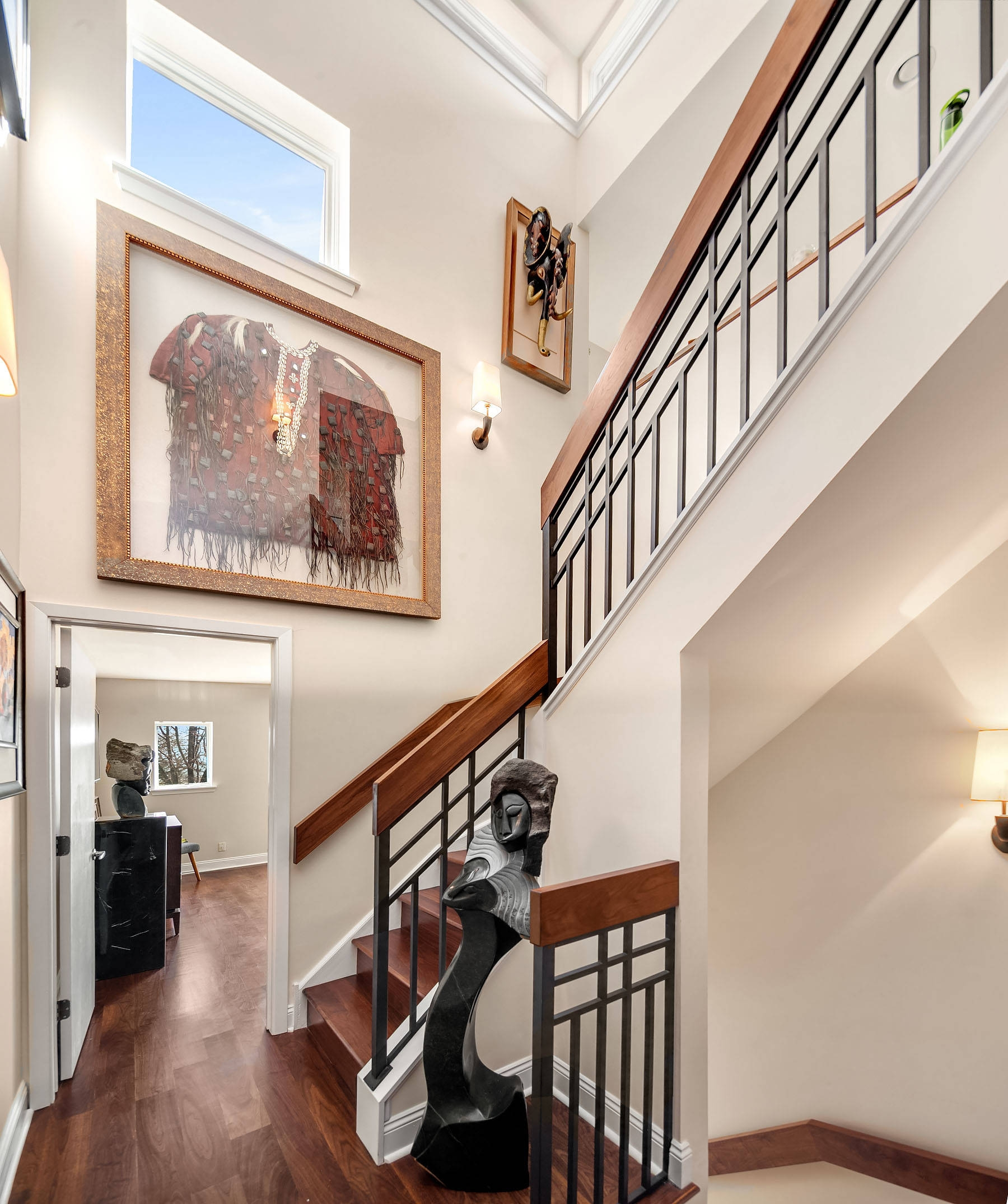 Frank Lloyd Wright Staircase Ideas Photos Houzz | Frank Lloyd Wright Stairs | Exterior | Farmhouse | Gordon Strong | Bedroom | Wife