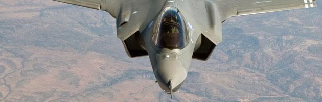 Spending review, restano gli F 35