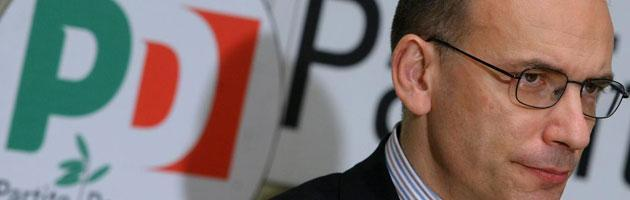 Il vicesegretario del Pd Enrico Letta