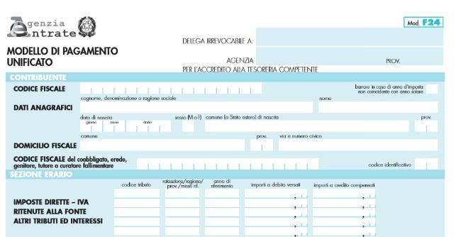 F24 Telematico Obbligatorio Dal 1 Ottobre Per I Pagamenti