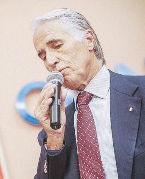 Il presidente del Coni, Giovanni Malagò – Ansa