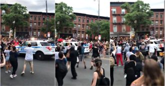 Police SUV hits the protesters in New York: investigation is open