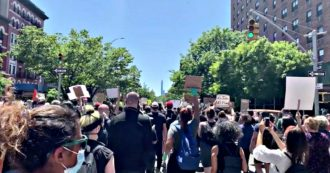 George Floyd, thousands of protesters in New York invade the streets to protest police violence