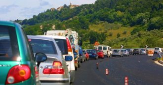 Liguria, traffic on tilt for work on the highway: up to 12 kilometers of queue towards Genoa