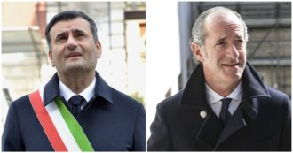Luca Zaia and Antonio Decaro are the most popular president of the region and the mayor of Italy according to a survey by the Sole 24 Ore