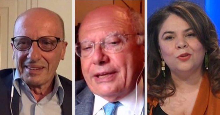 """Galli a La7: """"Stato di emergenza va prorogato, straordinariamente concordo al 100% con Sallusti"""". Botta e risposta con Michela Murgia"""