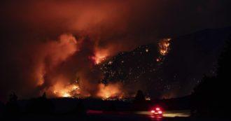 """Canada, 719 morti per il caldo: """"Cifra tre volte superiore alla media in questo periodo"""". Oltre 130 incendi in British Columbia"""