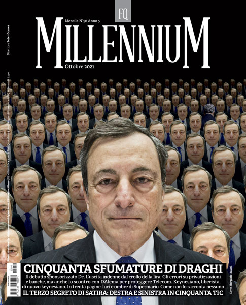 Mario Draghi, la biografia non autorizzata su FQ MillenniuM in edicola da sabato 16 ottobre. 1/Gli esordi: un tecnico molto politico