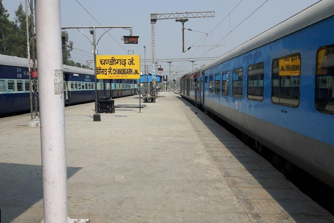 Image result for Chandigarh train