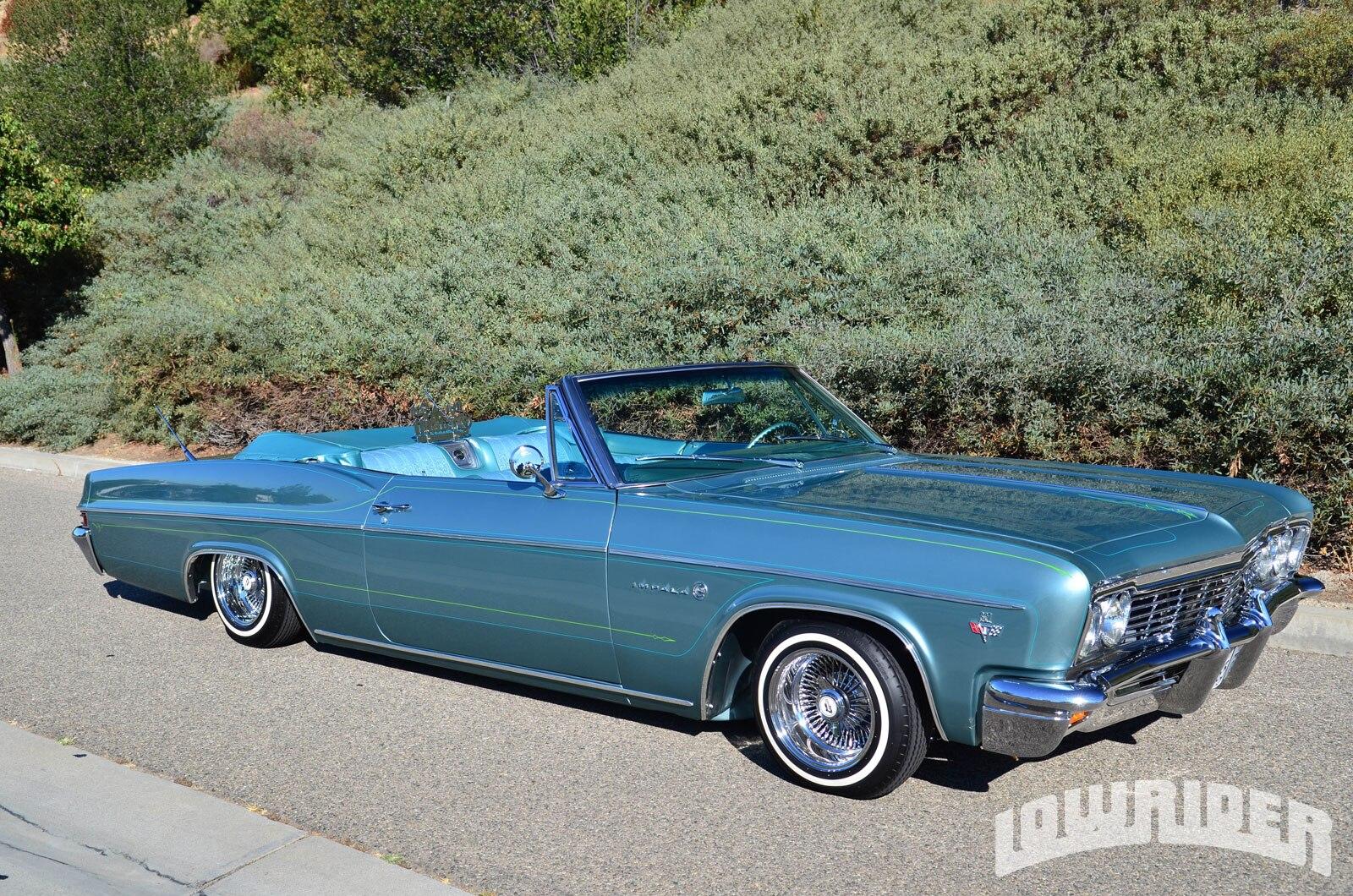 1957 Chevy Convertible Lowrider Impala