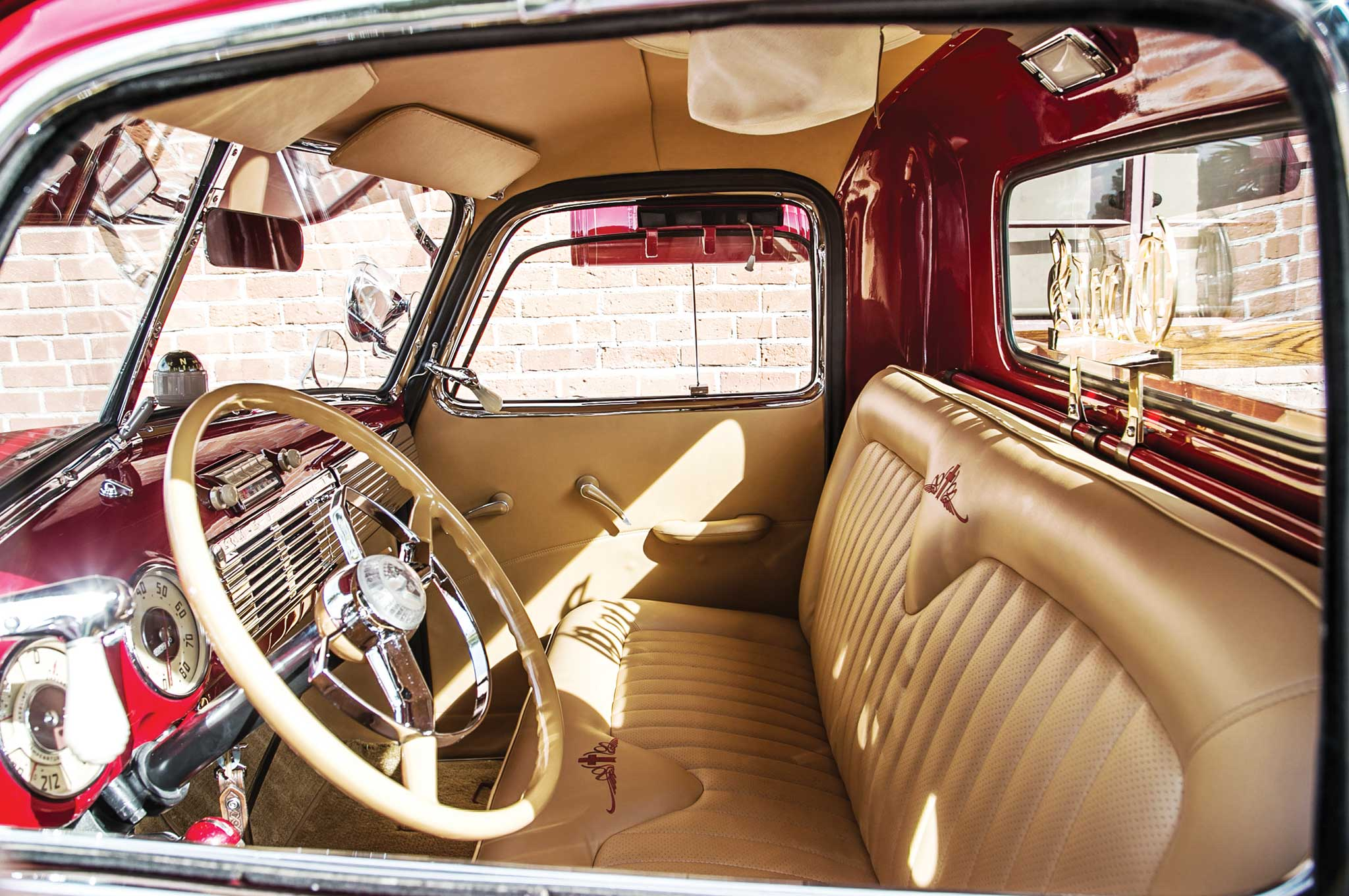 1949 Chevy 3100 Stake Bed Stake Your Claim Lowrider