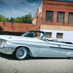 1961 Chevy Impala Convertible Driver Side View 003 Lowrider