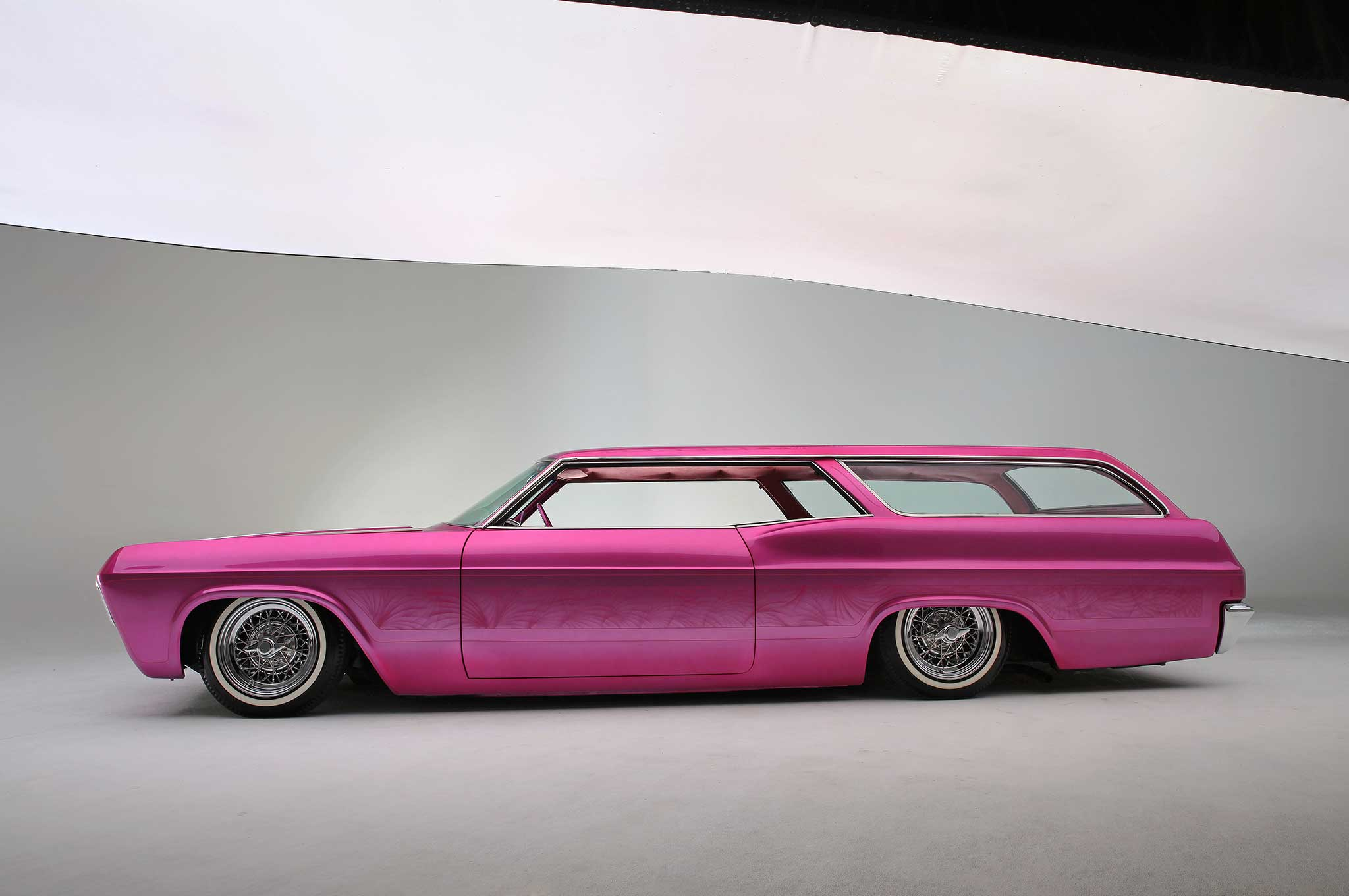 Two Door 65 Impala Wagon That Turned A Lot Of Heads At
