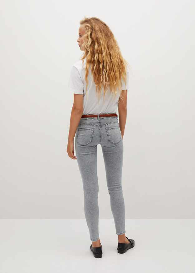 Kim skinny push-up jeans - Reverse of the article