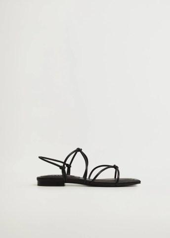 Straps knots sandals - Article without model