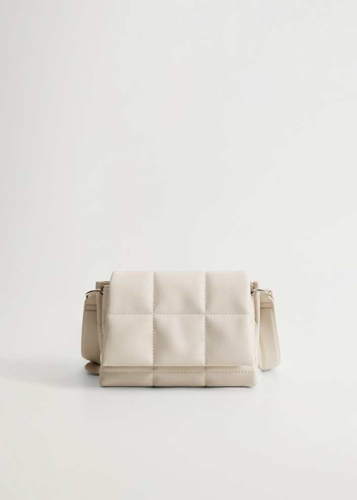 Quilted cross-body bag - Mango