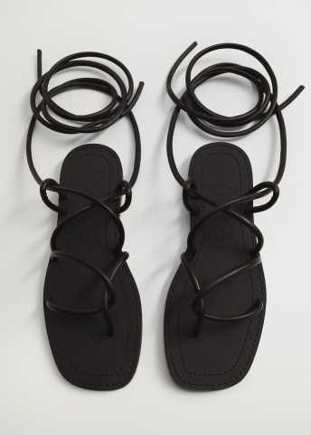 Criss-cross straps sandals - Details of the article 4