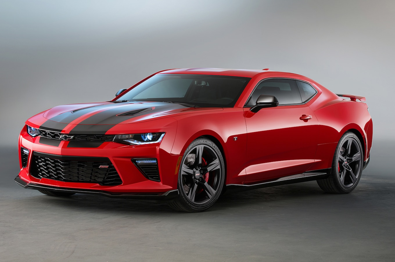 Les Chevrolet Camaro SS 2016 Vtues Des Ensembles Red