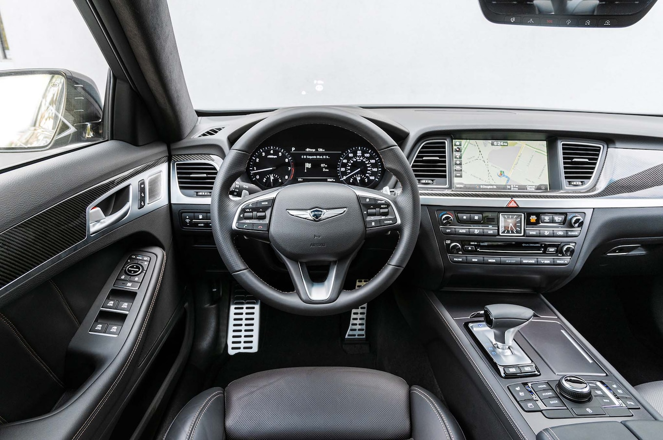 2018 Genesis G80 Sport First Test Review Motor Trend Canada