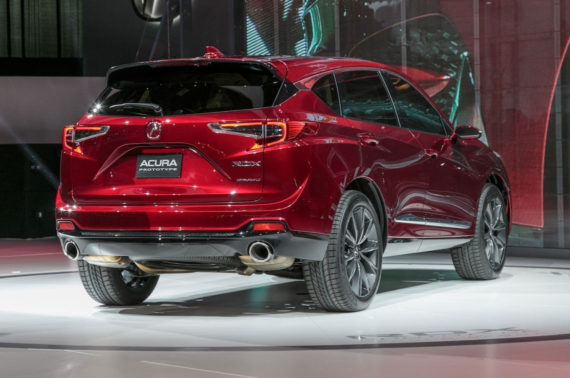 2019 acura rdx prototype first look: larger, stiffer, more powerful