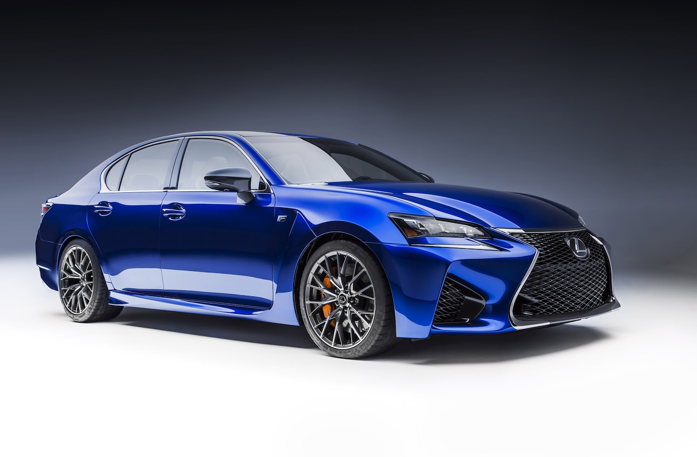 2016 Lexus GS F Reviews and Rating