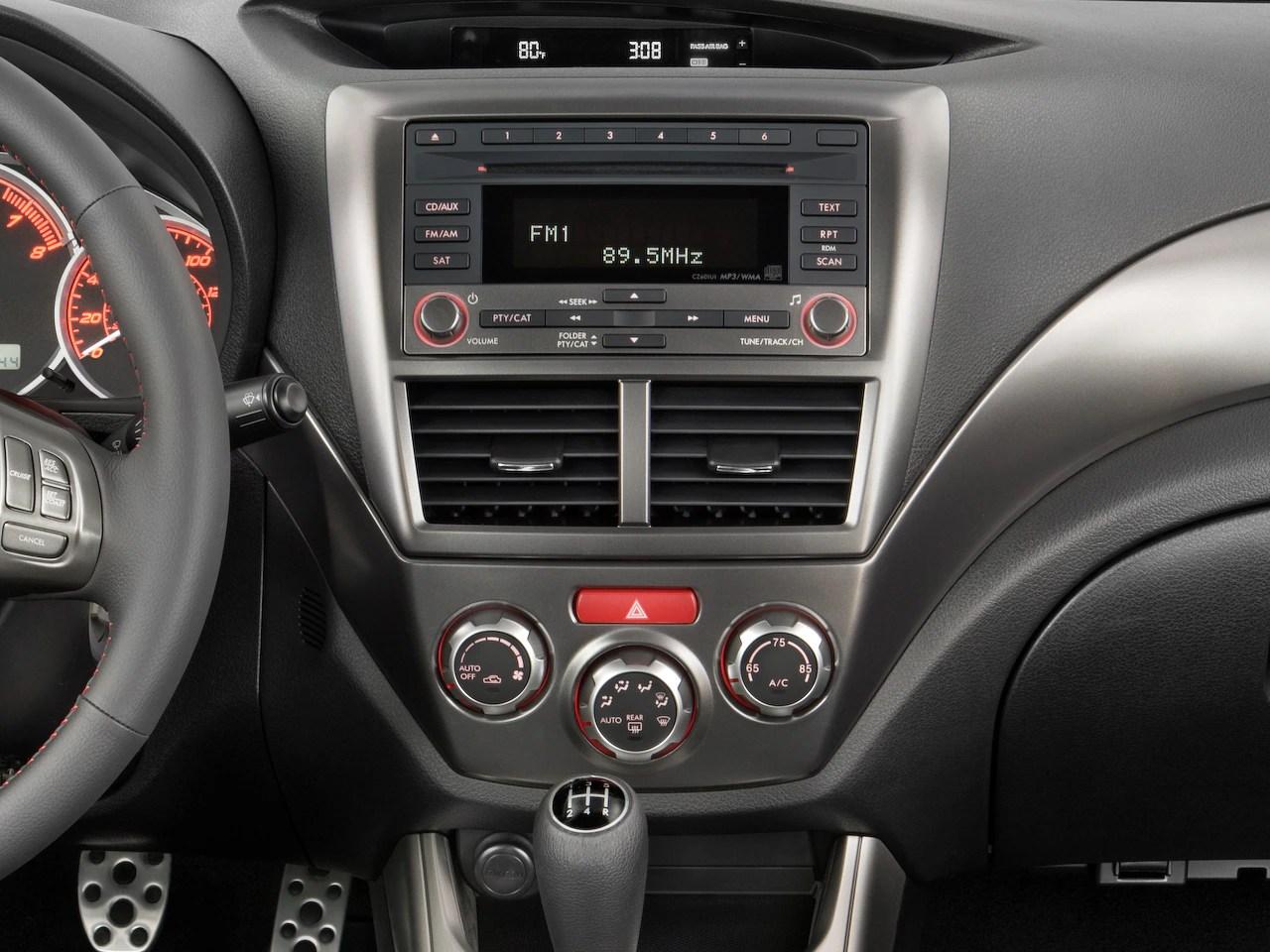 2009 Subaru Impreza Reviews And Rating Motortrend