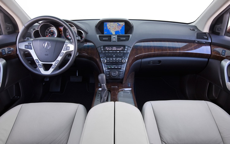2010 Acura MDX First Photos And Details Motor Trend