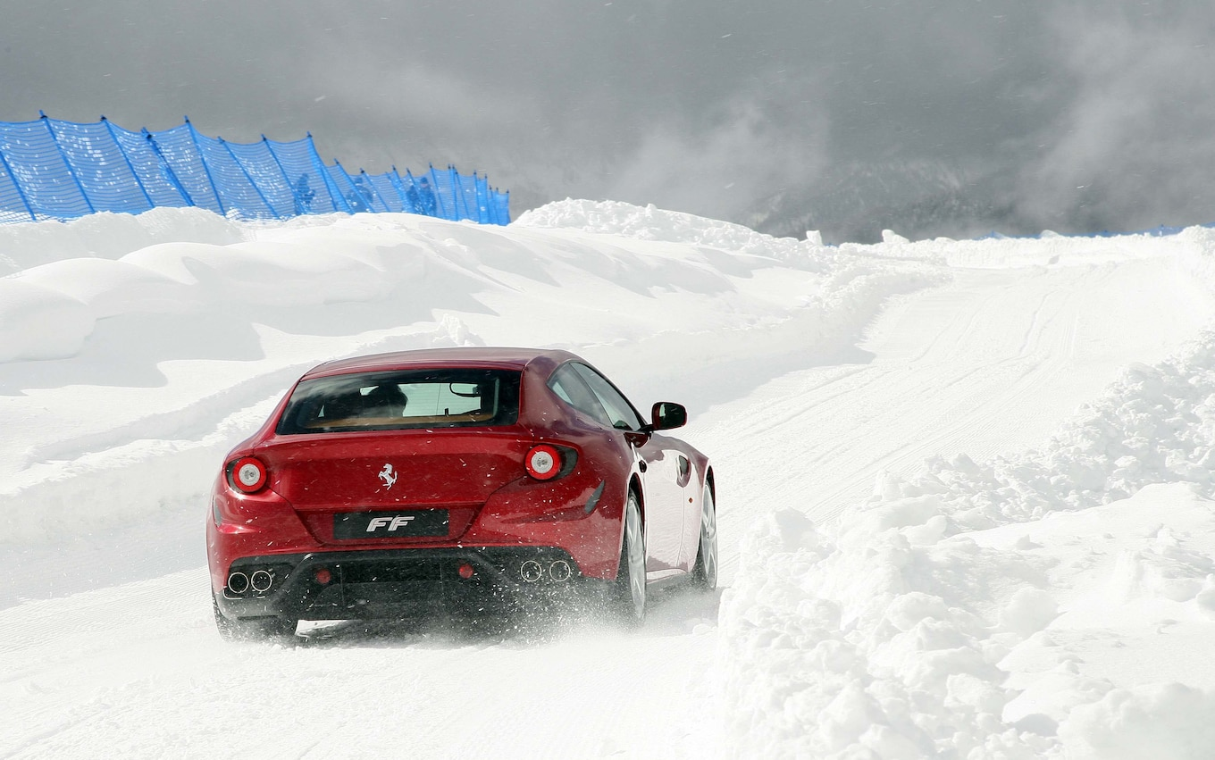 Frozen Hooves Ferrari Announces Snow Driving School For