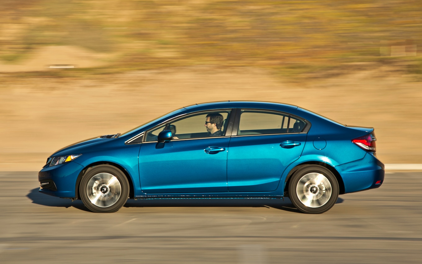 2013 Honda Civic Ex First Test Motor Trend