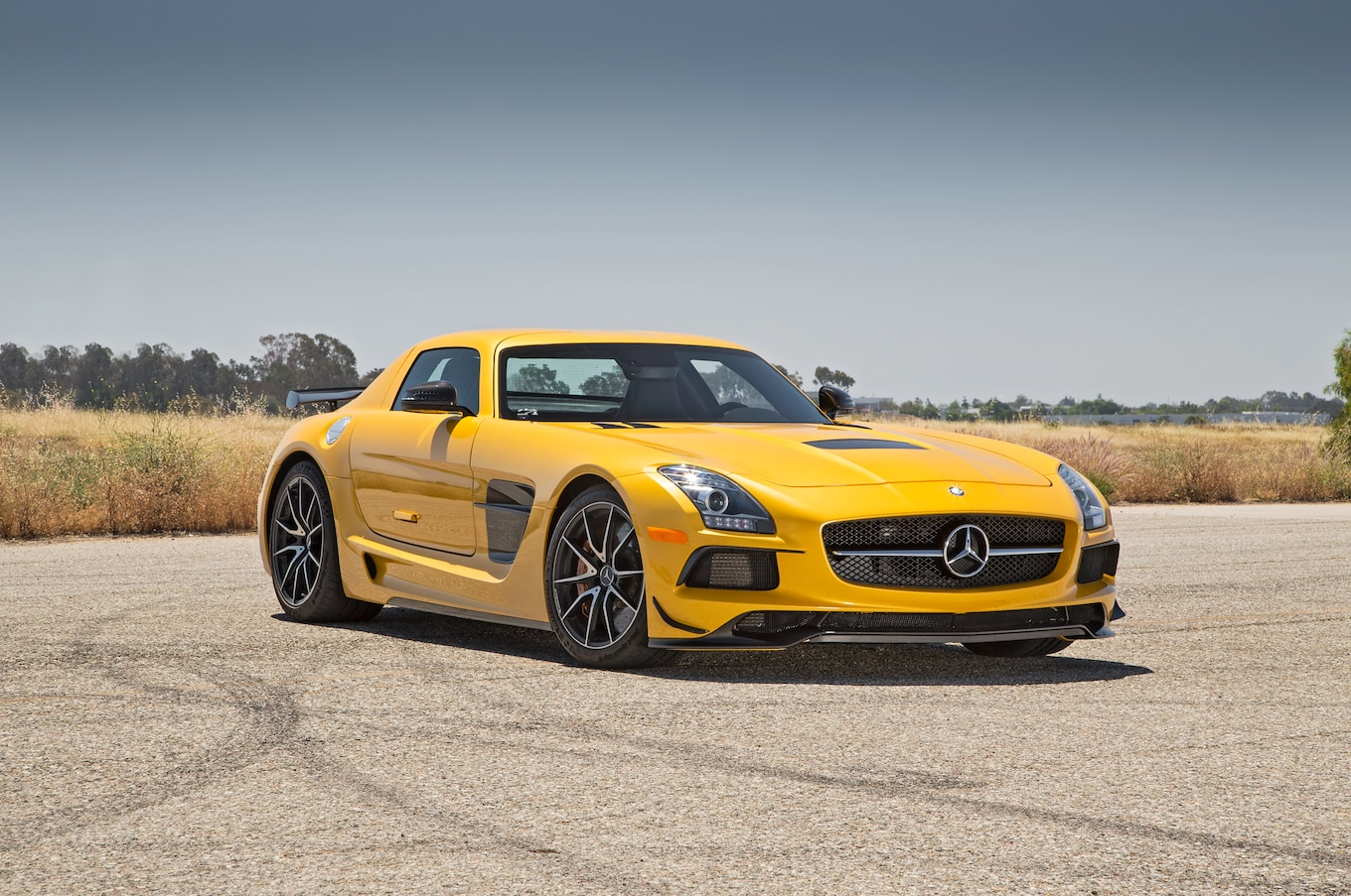 Mercedes Benz Sls Amg Black Series First Test