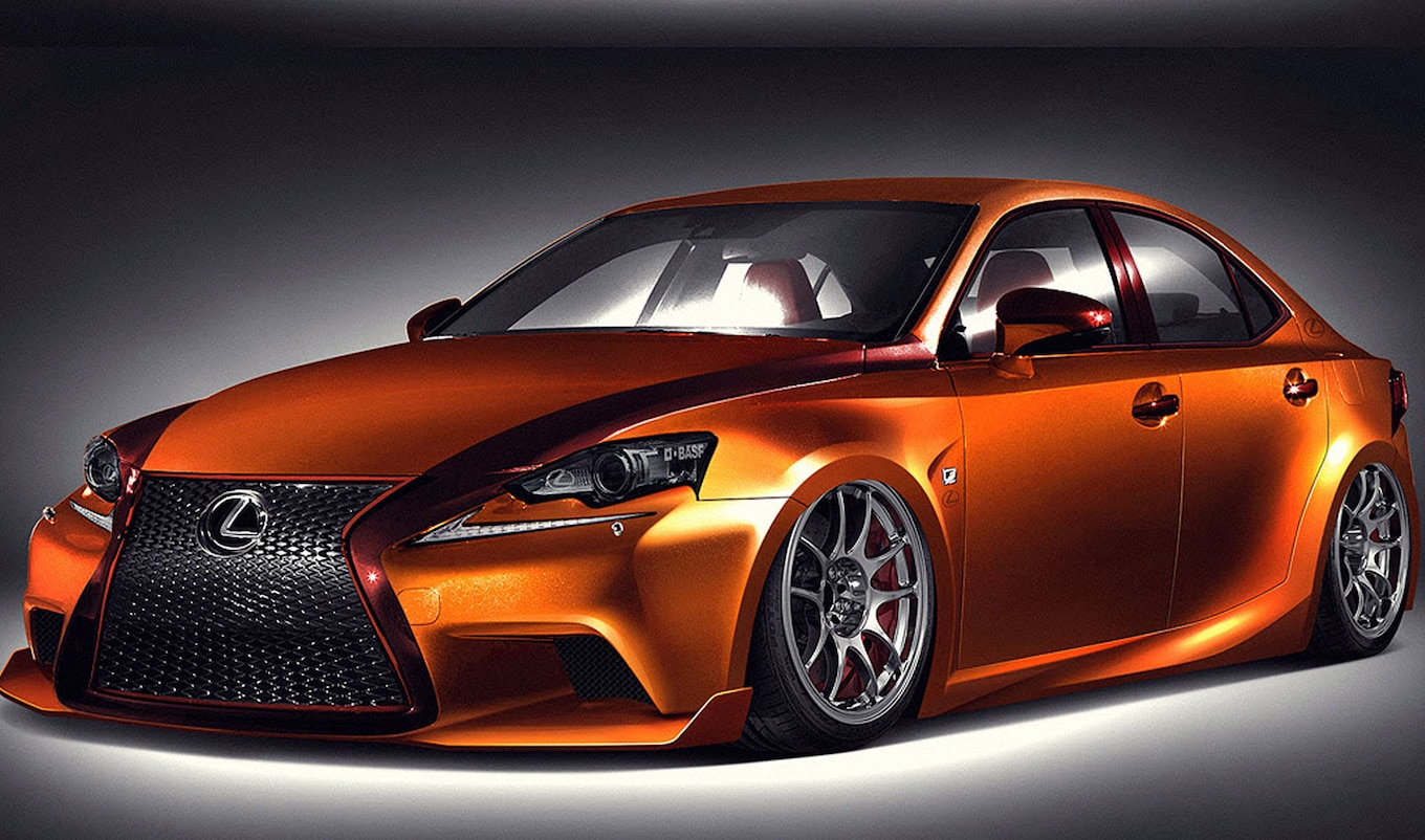 2014 Lexus IS Takes Six Different Forms at 2013 SEMA Show Motor