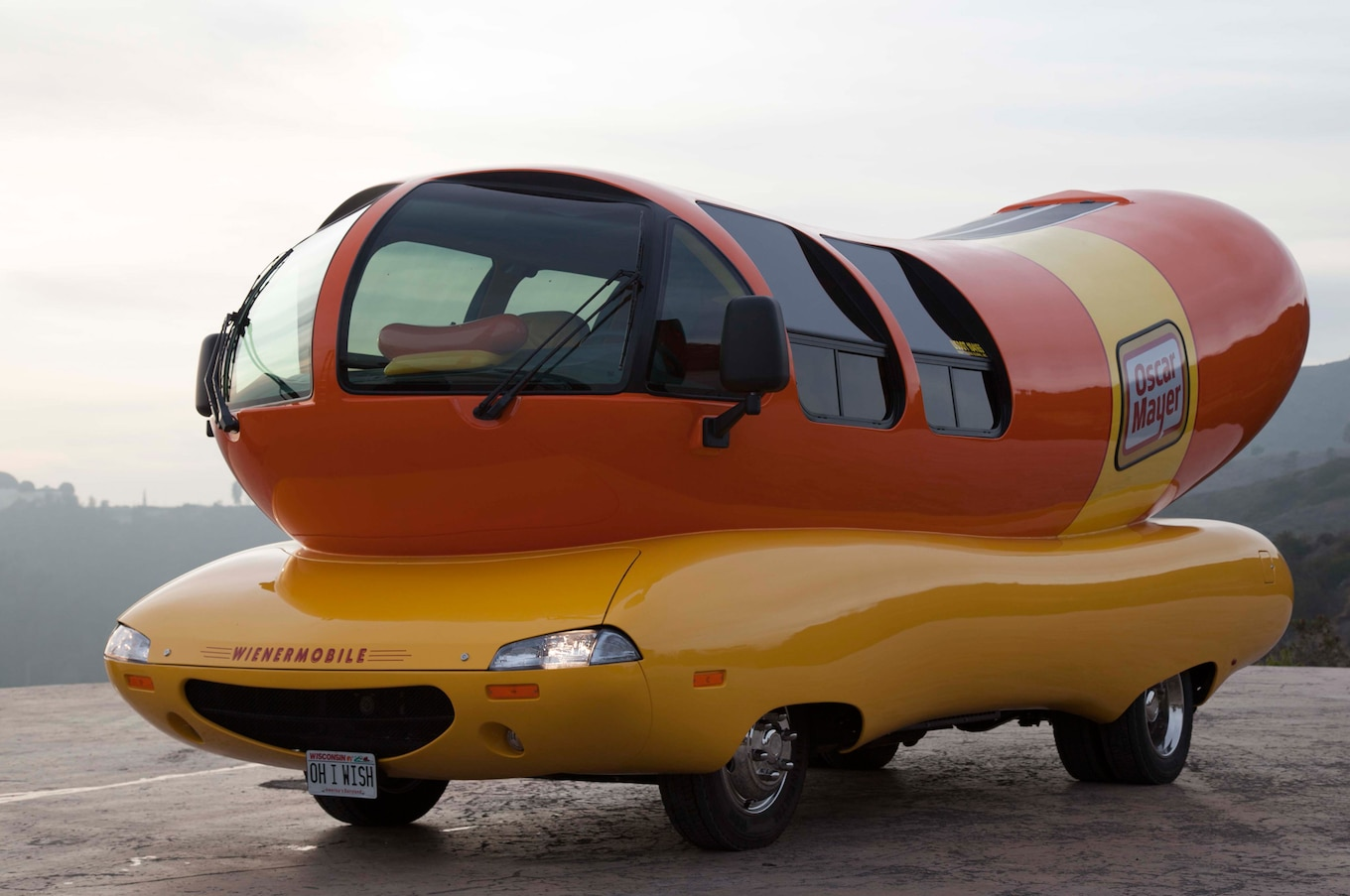 2014 Oscar Mayer Wienermobile First Vehicle For Lease