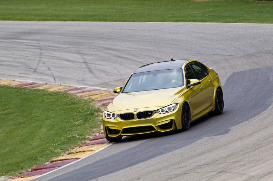 BMW M3 on track