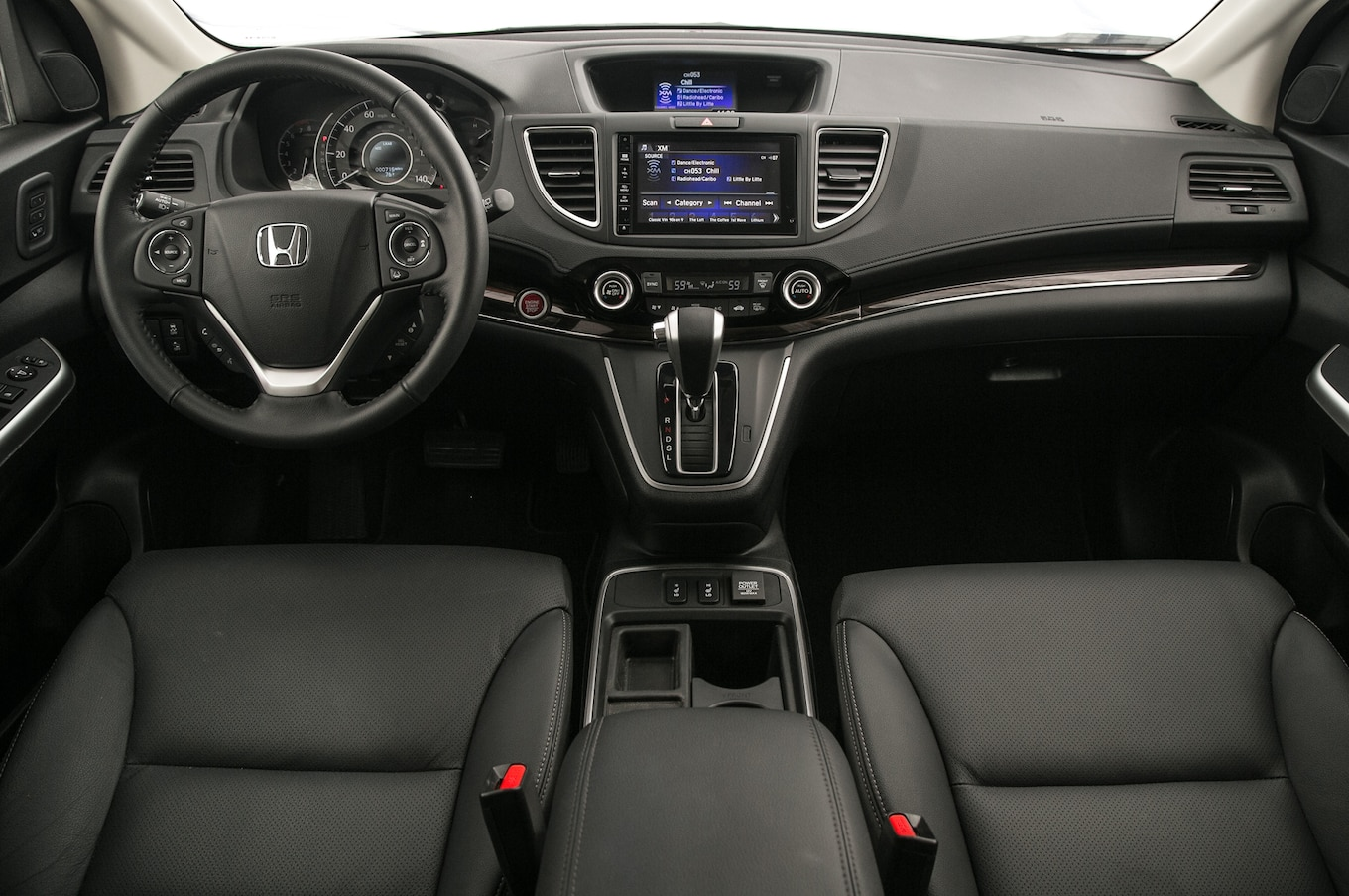 Honda 2011 V Cr Inside