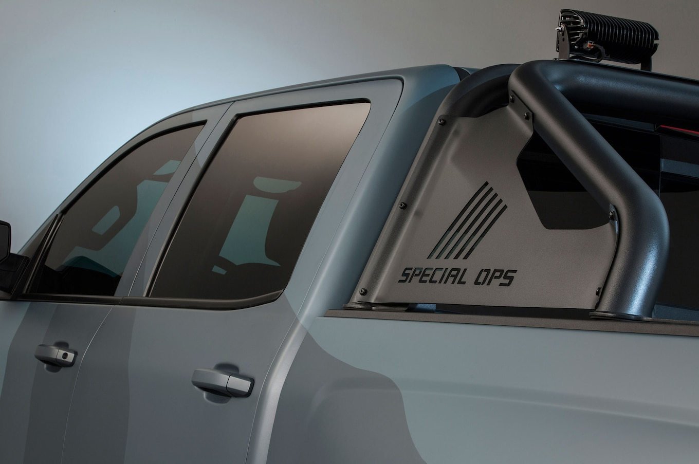 Chevrolet Silverado Special Ops Edition Entering Limited