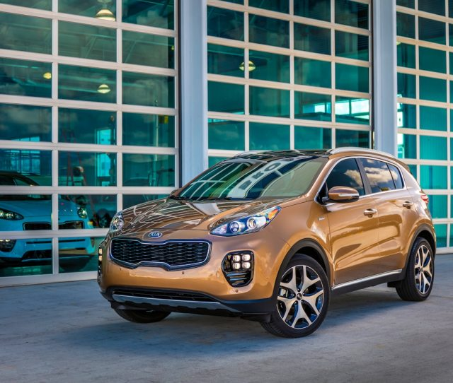 Auto Blog Calls The  Kia Sportage The Most Visually Appealing Compact Crossover In Its Jam Packed Category
