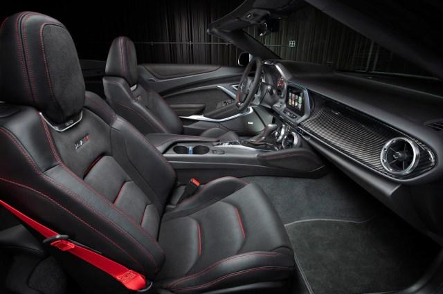 2017 Chevrolet Camaro ZL1 Convertible interior