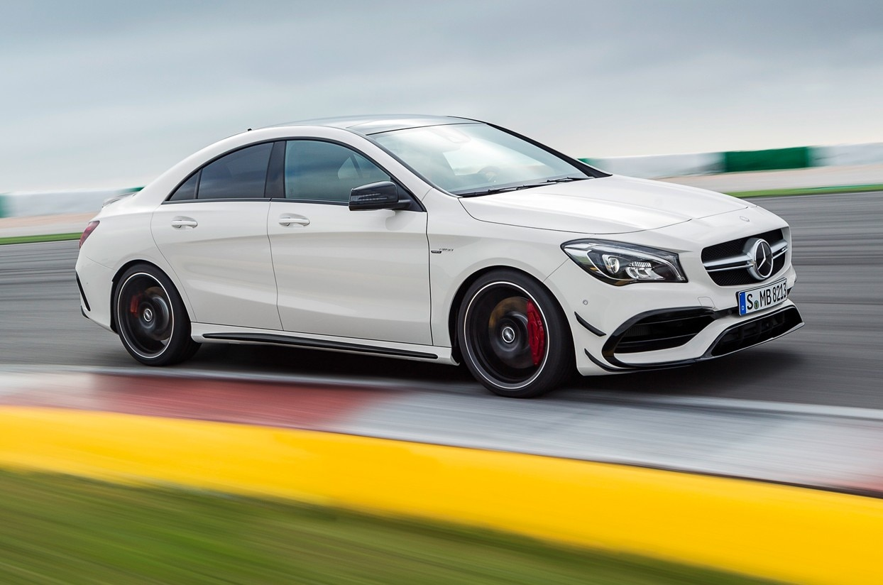 2017 Mercedes Benz CLA Class First Look Review MotorTrend