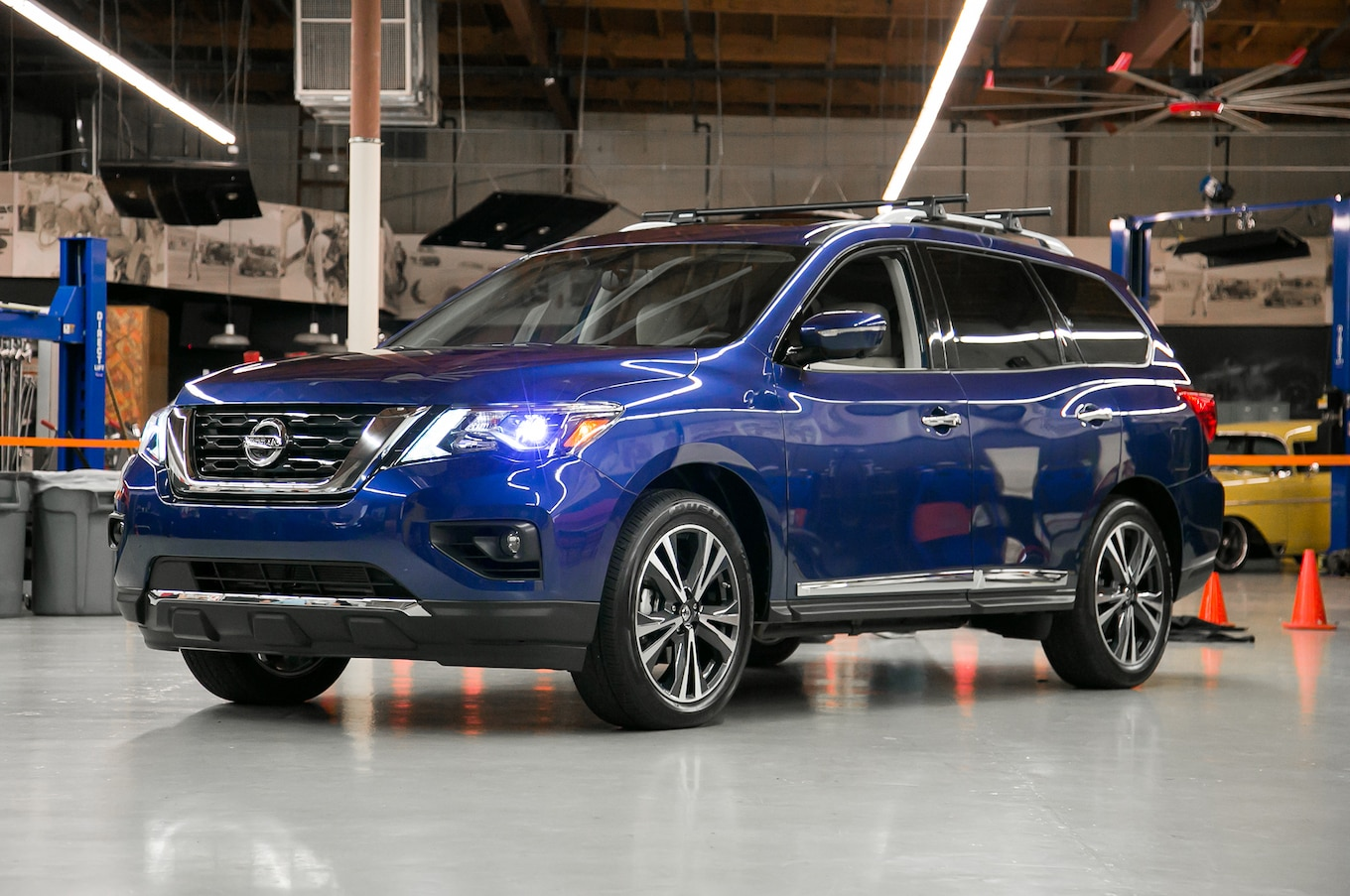2017 Nissan Pathfinder SV First Test Review Motor Trend