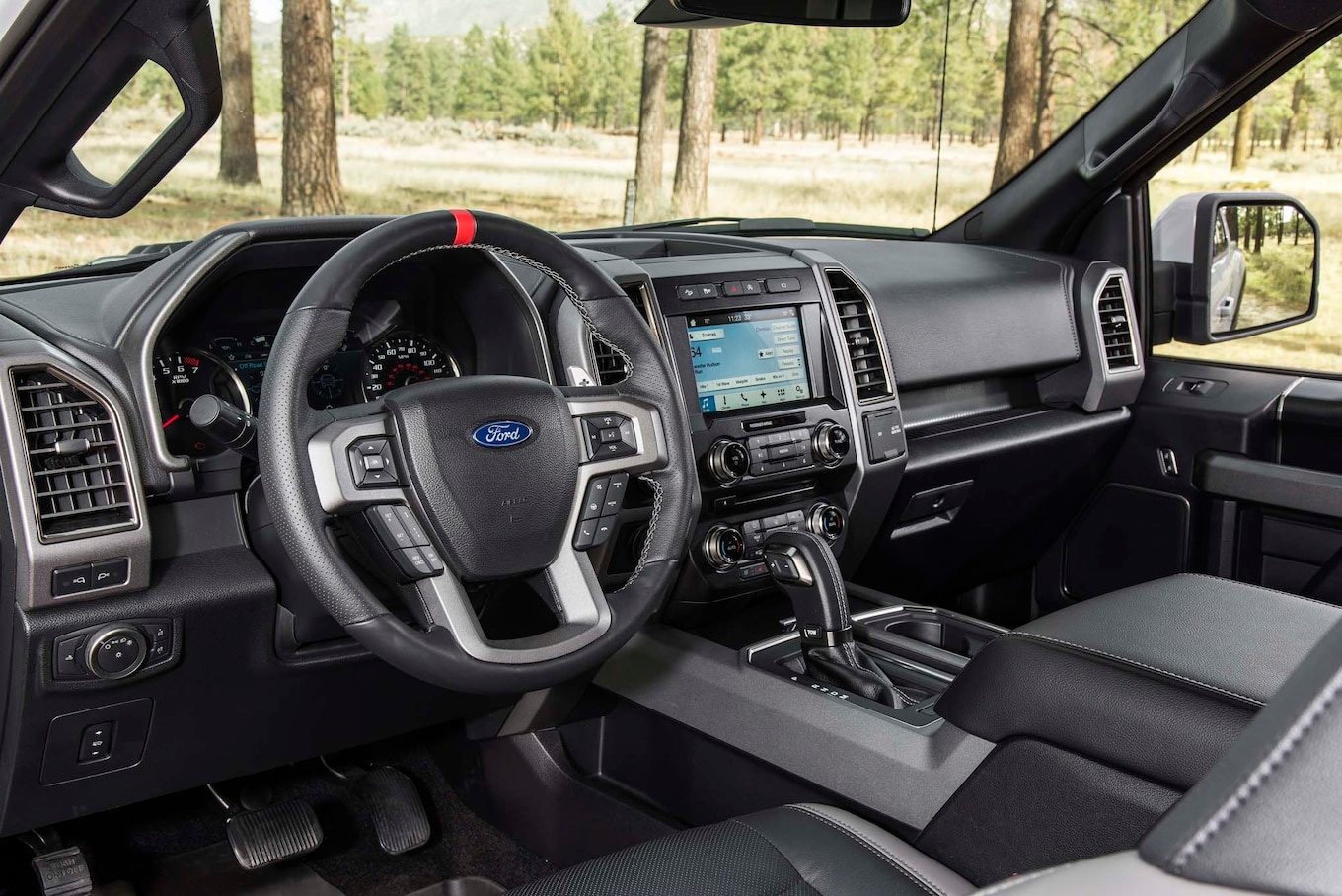 2017 Ford F 150 Raptor interior 1